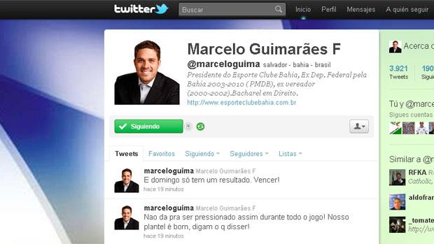 presidente bahia twitter (Foto: Reprodução twitter)
