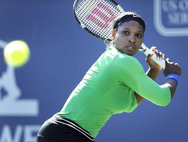 Serena Williams na partida contra Maria Kirilenko (Foto: EFE)