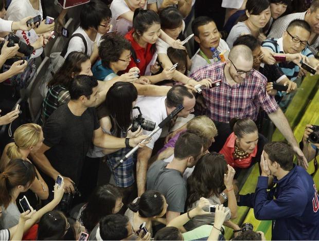 Michael Phelps Mundial de natação Xangai (Foto: Getty Images)