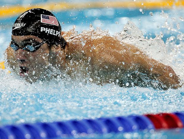 michael phelps 100m borboleta mundial de natação (Foto: Agência Getty Images)