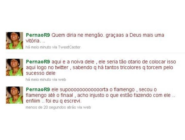 Twitter PernãoR9 (Foto: Reprodução / Twitter)