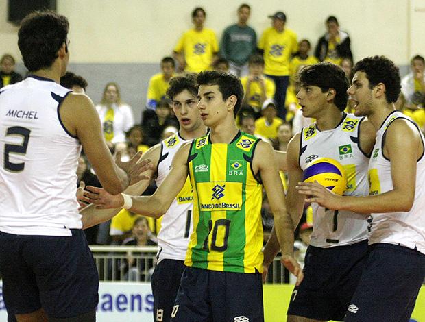 Seleção juvenil masculina vôlei (Foto: Divulgação / CBV)