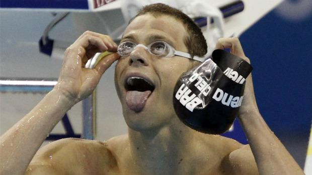 Cesar Cielo ouro nos 50m livre Mundial de Xangai nataçãoi (Foto: Reuters)