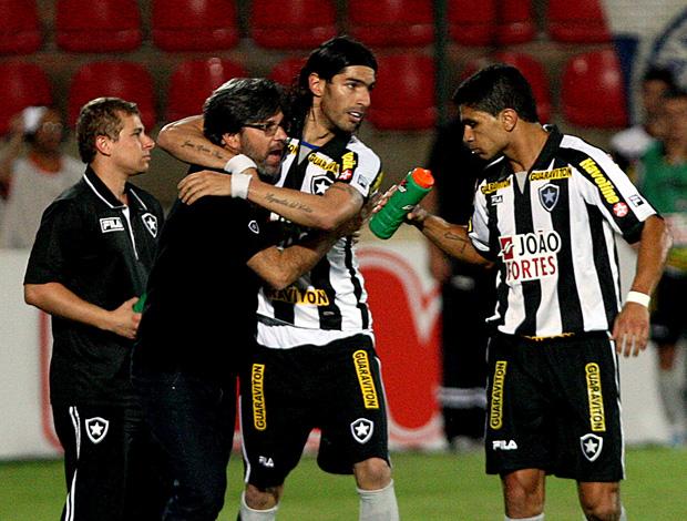 loco abreu gol botafogo x cruzeiro (Foto: Agência Estado)
