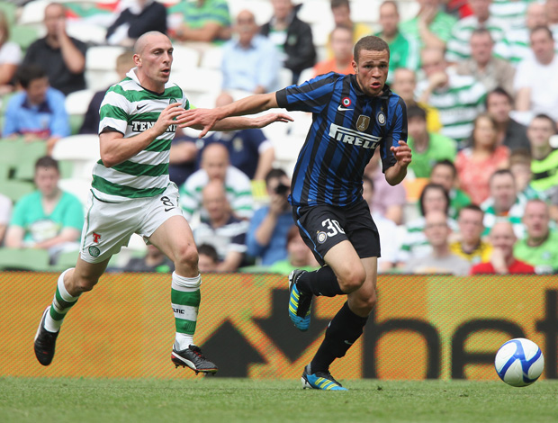 Luc Castaignos Scott Brown internazionale x celtic (Foto: Getty Images)