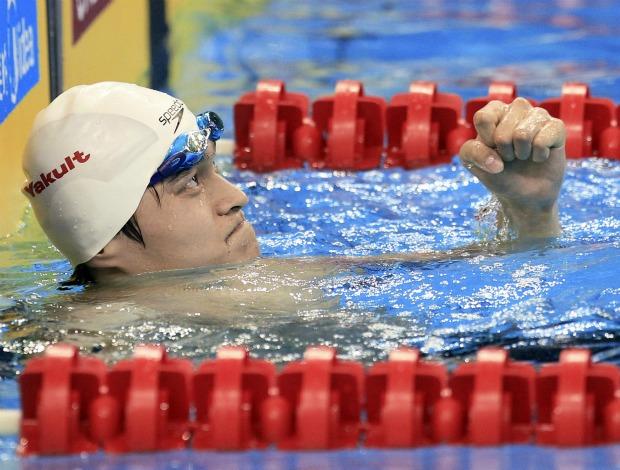 Yang Sun 1500m Mundial de Xangai natação (Foto: Reuters)