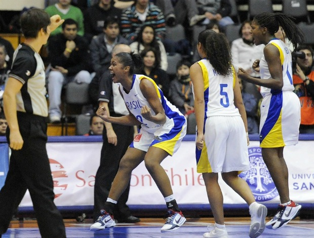Damiris, pivô da seleção sub-19 Brasil de basquete (Foto: Divulgação/Fiba)