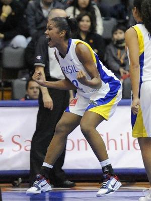 Damiris, pivô da seleção sub-19 Brasil de basquete (Foto: Divulgação)