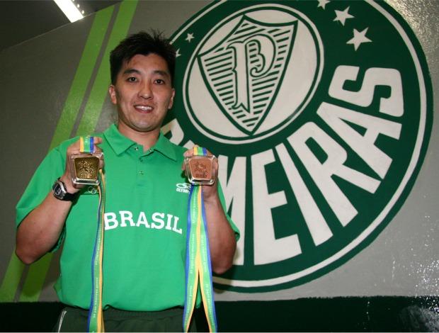 Hugo Hoyama - Palmeiras (Foto: Arquivo Pessoal)