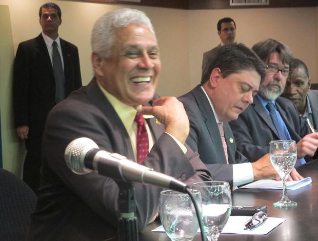 vasco Roberto Dinamite evento (Foto: Janir Junior/Globoesporte.com)