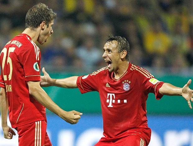 Thomas Mueller gol Bayern de Munique (Foto: AP)