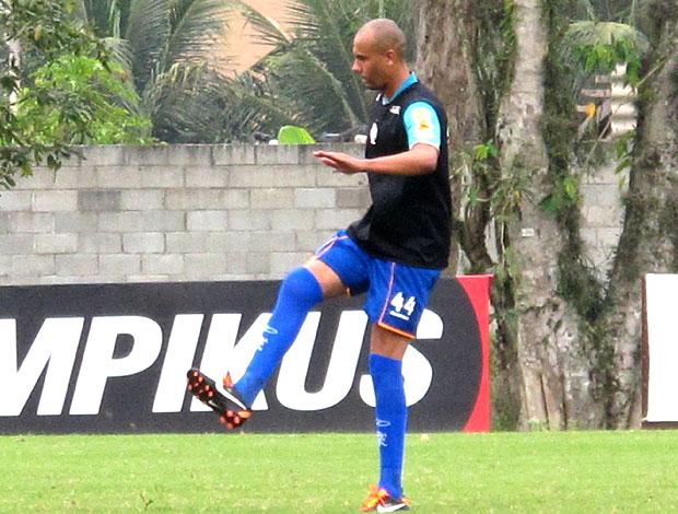 Alex Silva no treino do Flamengo (Foto: Janir Junior / Globoesporte.com)
