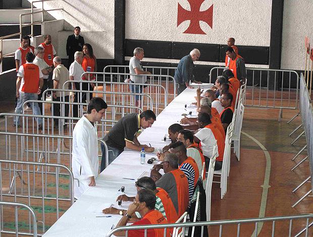 eleição vasco presidente  (Foto: Rafael Cavalieri / Globoesporte.com)