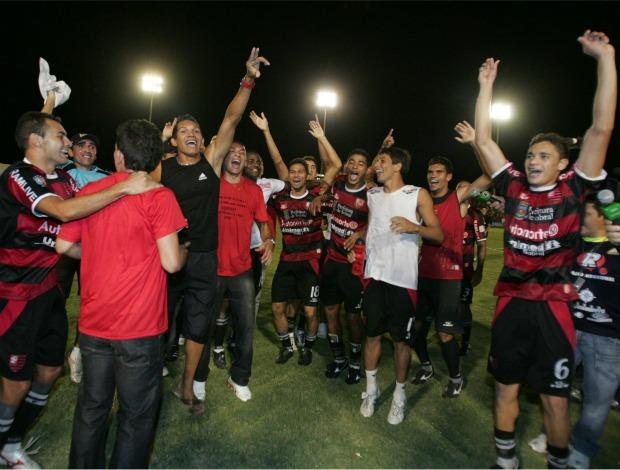 Guarany de Sobral comemora título da Série D (Foto: Kiko Silva/Agência Diário)