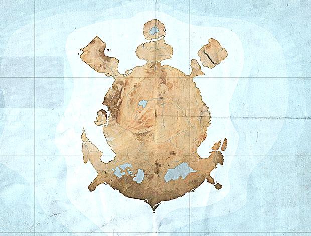 mapa da Republica popular do Corinthians (Foto: Divulgação)