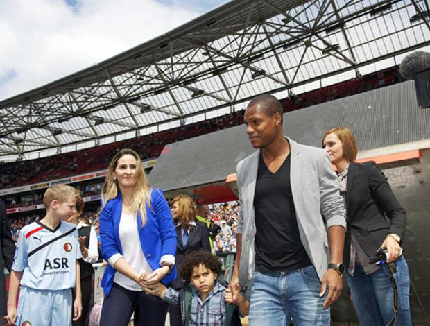 andre bahia Feyenoord   (Foto: Divulgação)