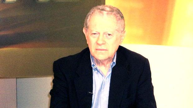 Arnaldo Niskier no Redação SporTV (Foto: Renato Sousa (SporTV.com))