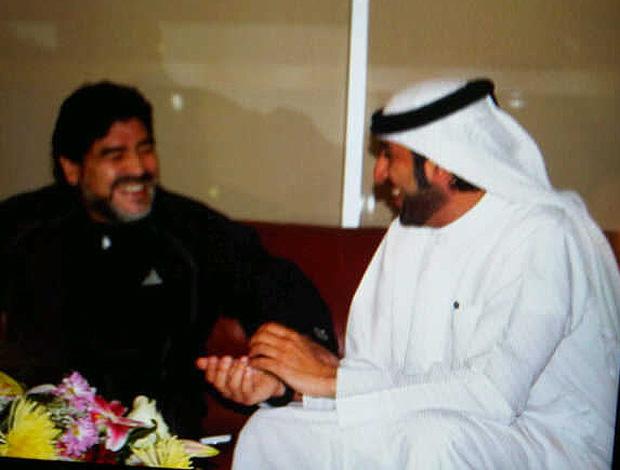 maradona dubai  Al Wasl (Foto: Reprodução/Twitter)
