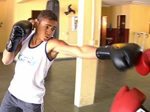 Udilson boxeador (Foto: Reprodução/TVCA)