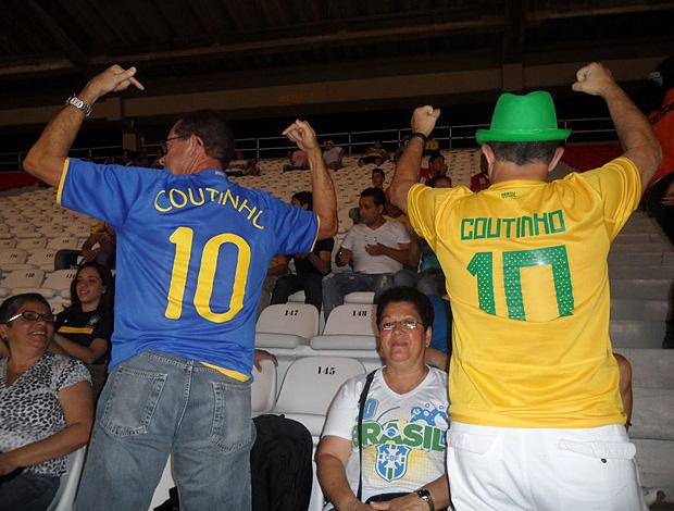 família philippe coutinho brasil mundial sub 20 (Foto: Victor Canedo / Globoesporte.com)