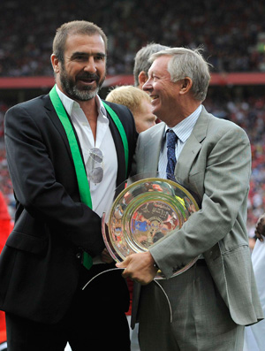 ferguson cantona new york cosmos x manchester united (Foto: Reuters)