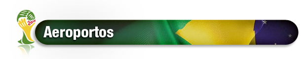 header Copa 2014 Aeroportos (Foto: Editoria de Arte)