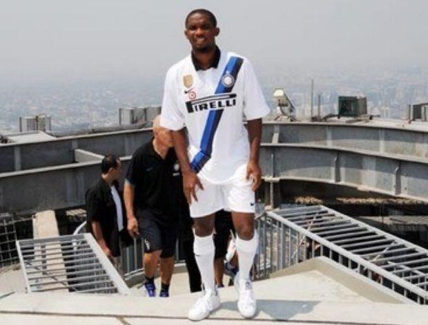 Nova camisa reserva do Inter de Milão (Foto: Divulgação)