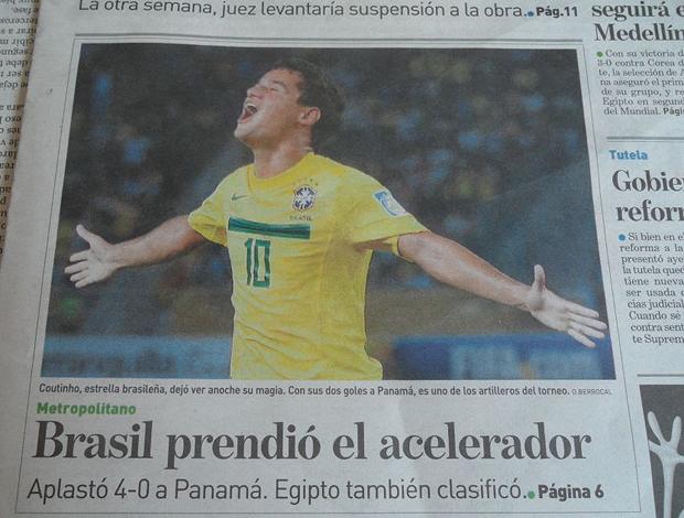 jornais Barranquilla  Colômbia seleção brasileira mundial sub 20 (Foto: Victor Canedo/Globoesporte.com)