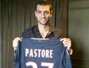 Javier Pastore com a camisa do Paris Saint-Germain (Foto: Reprodução/Twitter)