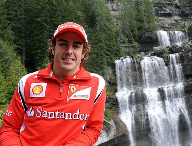 Alonso ferrari férias em Madonna di Campiglio (Foto: divulgação / Site Oficial da Ferrari)
