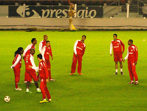 treino do Internacional em Avellaneda (Foto: Alexandre Alliatti / Globoesporte.com)