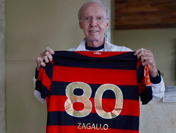 Zagallo flamengo 80 anos (Foto: Divulgação)
