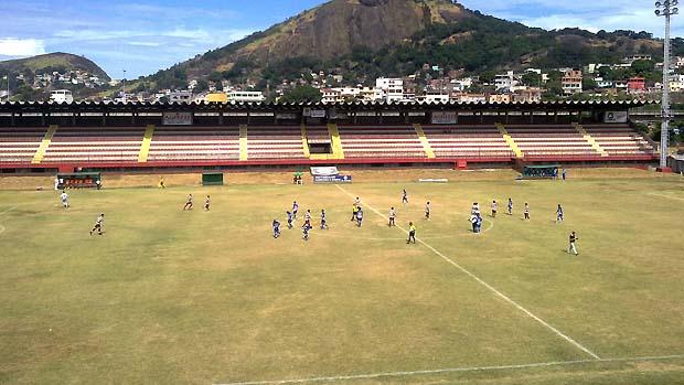 Estádio Engenheiro Araripe, da Desportiva Ferroviária (Foto: Sidney Magno Novo/Globoesporte.com)