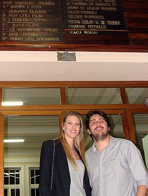 caca bueno sócio honorário do Fluminense (Foto: Alfredo Bokel / Globoesporte.com)