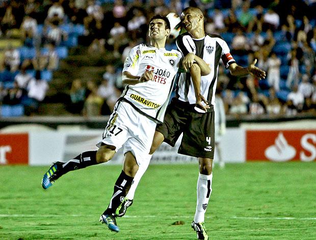 Herrera no jogo do Botafogo contra o Atlético-MG (Foto: Bruno Cantini / Site Oficial do Atlético-MG)