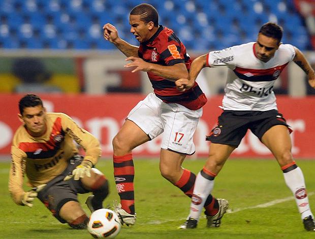 Jael Flamengo x Atlético-PR (Foto: Nina Lima / VIPCOMM)