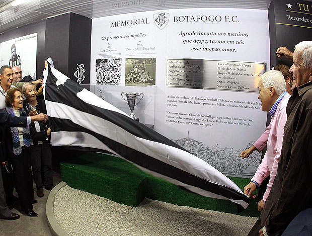 lançamento do Memorial do Botafogo (Foto: Satiro Sodré / Divulgação Agif)