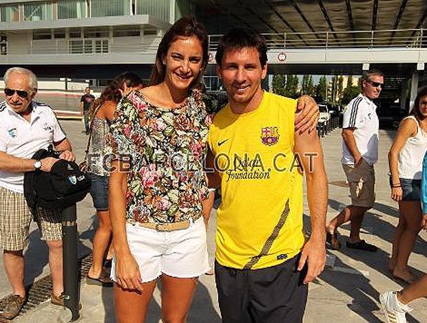 Messi   jogadora  hóquei   Lucha Aymar (Foto: Site Oficial)