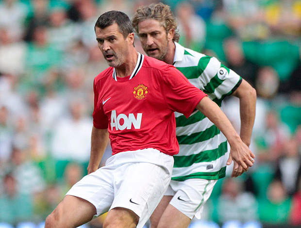 gerard butler celtics roy keane manchester united amistoso beneficente contra a fome na áfrica (Foto: Agência Reuters)