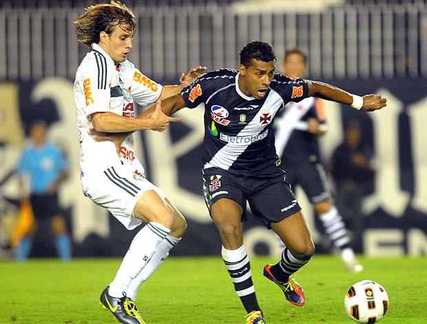 Elton no jogo do Vasco contra o Palmeiras (Foto: Nina Lima / Fotocom.net)