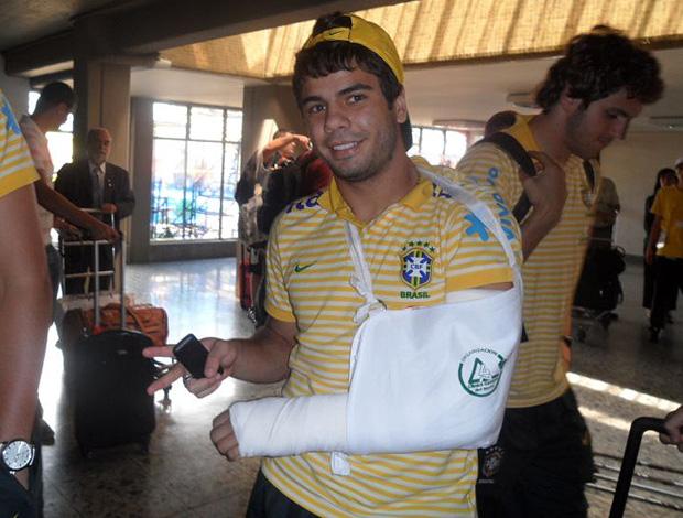 henrique seleção brasileira sub-20   (Foto: Victor Canedo/Globoesporte.com)