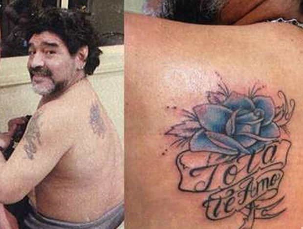 tatoo maradona (Foto: Divulgao/Diario Libre)