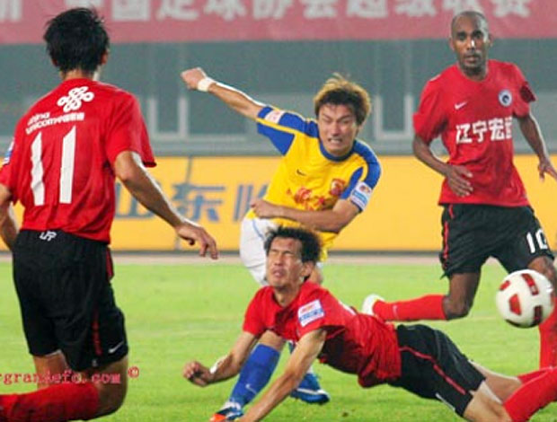 Guangzhou Evergrande, time do Conca, empata (Foto: Divulgação / Site Oficial)