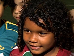 Tauan do sub-7 do Fluminense (Foto: Reprodução SporTV)
