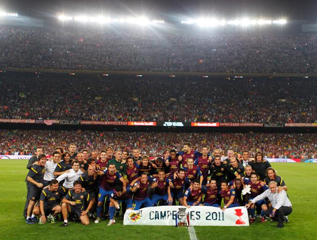 Barcelona Campeão (Foto: AP)