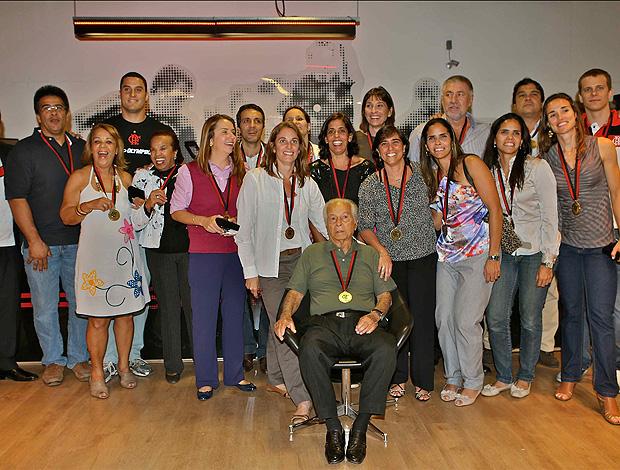 patricia amorim evento flamengo atletas (Foto: Leandra Benjamin / FlaImagem)