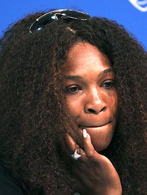 Serena Williams tênis Cincinnati estreia (Foto: AP)