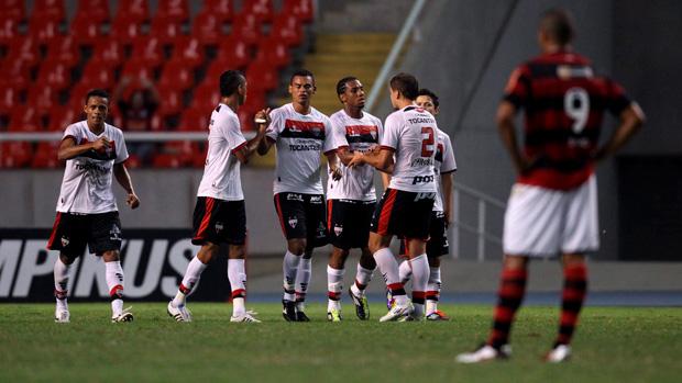 gol  flamengo x atlético-go (Foto: Alexandre Cassiano/Globo)