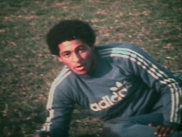 FRAME Geraldo jogador do Flamengo (Foto: Reprodução / TV Globo)