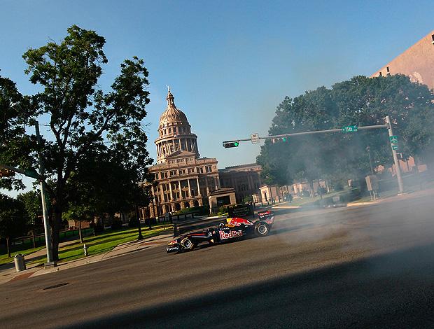 coulthard  texas ex-piloto fórmula 1 (Foto: Getty Images)